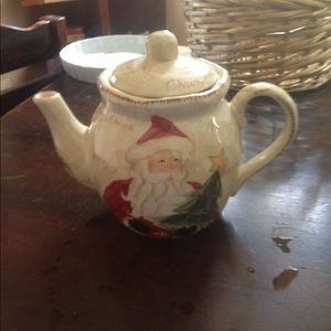 Christmas Santa Teapot.